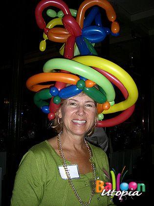 305 Best Balloon Hats Amp Masks Images On Pinterest