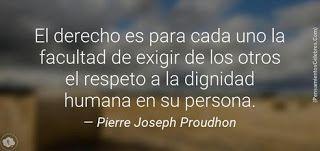 """Caminos del viento: """" Leyes."""" Pierre Joseph Proudhon."""