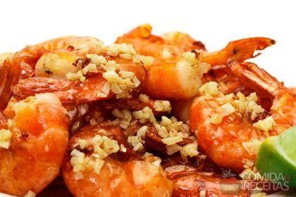 Receita de Camarão grelhado em receitas de crustaceos, veja essa e outras receitas aqui!