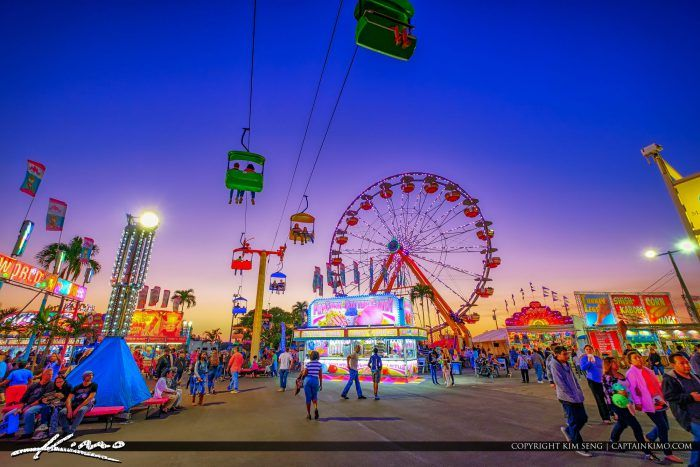 South Florida Fair Food Fun and Rides