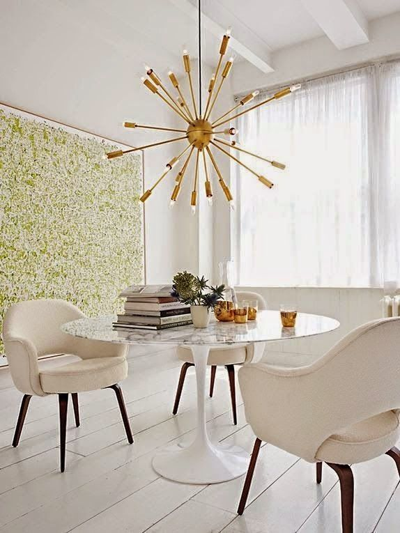 Eye For Design: Decorating With The Sputnik Chandelier