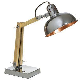 Lámpara de Mesa Flexo Redondo 22 x 43 x 52 centímetros