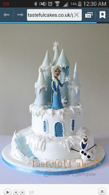 74 best Avas cake images on Pinterest Frozen birthday Cakes