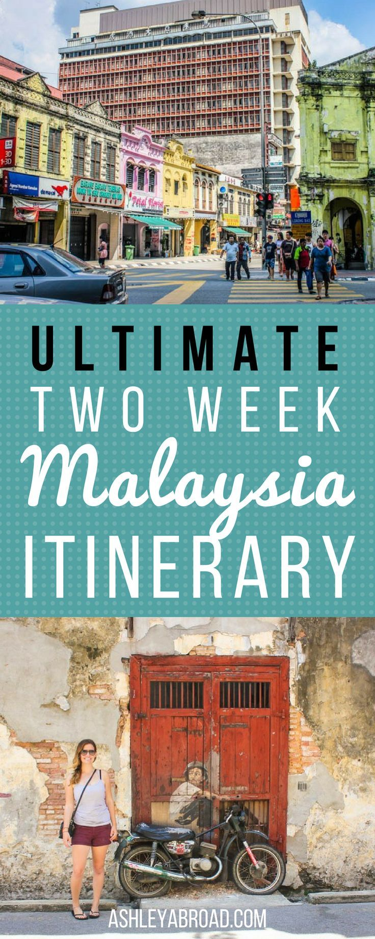 The Ultimate Two Week Malaysia Itinerary. Malaysia is a country of diverse and vibrant cities, verdant rice paddies and wild, red-earthed jungle. Second only to Singapore, Malaysia is the richest country in Southeast Asia, making public transit a breeze and the level of English impressively high. The high level of English make meeting locals much easier than in other parts of Southeast Asia, save Singapore. | Ashley Abroad