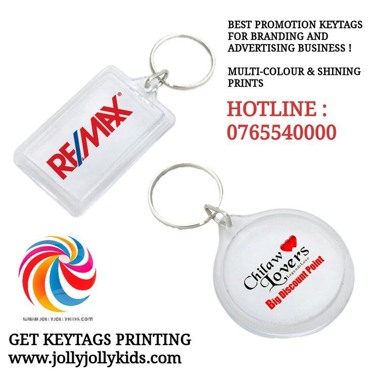 Custom key tag printing sri lanka / branded keytags