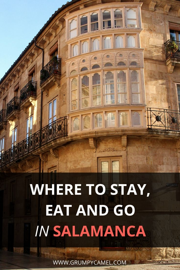 Things to do in Salamanca, Spain: http://www.grumpycamel.com/things-to-do-in-salamanca