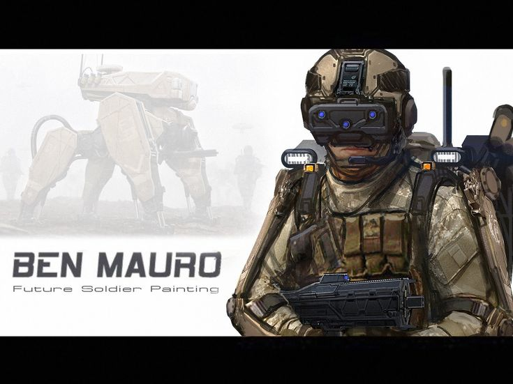 Ben Mauro - Future Soldier Photobash (+playlist)