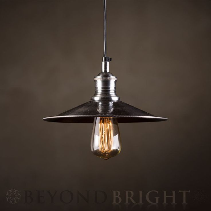 Industrial NEW YORK Pendant Light Vintage Ceiling Lamp Brass by Emac and Lawton