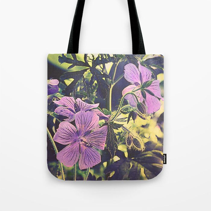 Buy Purple flowers Tote Bag by maryberg. Worldwide shipping available at Society6.com. Just one of millions of high quality products available.