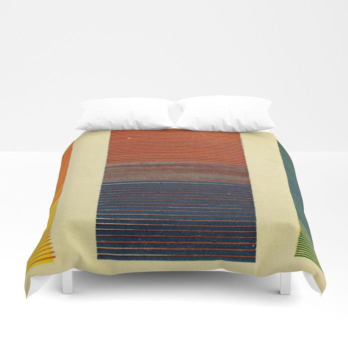 Antique Color Grades Duvet Cover