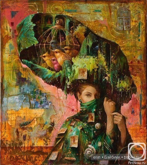 Доброго дня всем посетителям сайта! Случайно познакомилась с картинами художника Сергея Лукьянова, который так же, как великий Сальвадор Дали, предпочитает