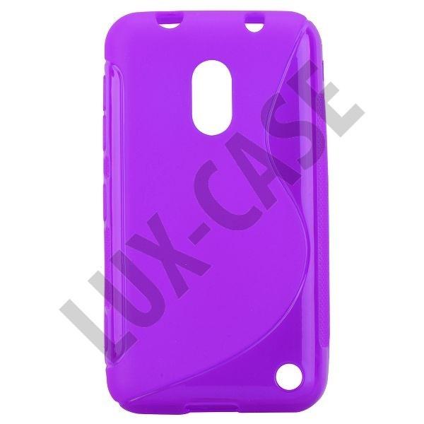 S-Line Transparent (Lilla) Nokia Lumia 620 Deksel