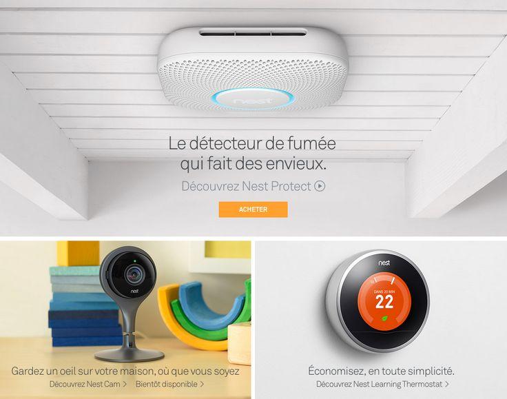 Nest renouvelle son détecteur de fumée et dévoile la Cam, une caméra de vidéosurveillance - http://www.frandroid.com/marques/google/290252_nest-renouvelle-detecteur-de-fumee-devoile-cam-camera-de-videosurveillance  #Google, #ObjetsConnectés, #Thermostatconnecté