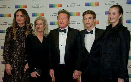 Don Henley & family at The Kennedy Center Honors artist dinner in Washington DC 2016