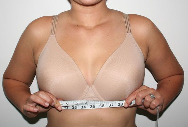 This is one of the best sites for determining your bra size. Most people will be shocked by what it tells them. But then, 90% of women in the US are wearing the wrong bra size. Realistically speaking, you're wearing a sister size, like I am.