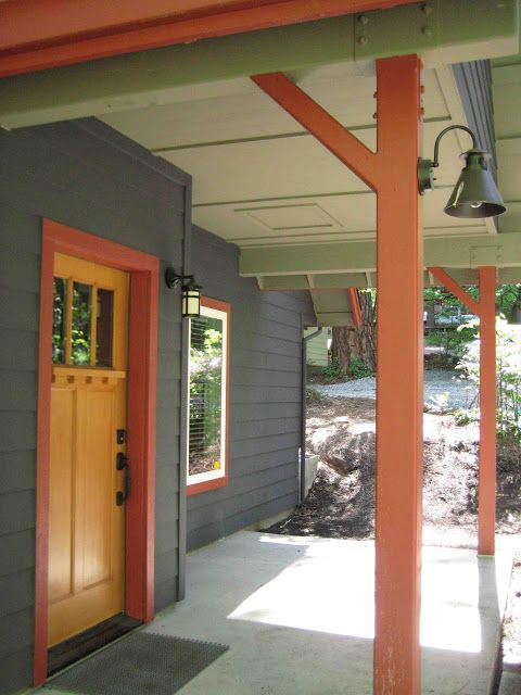Story and space how to select paint colors for a mountain - Mountain home exterior paint colors ...