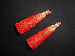 Делаем шелковые кисти для бижутерии - Ярмарка Мастеров - Zen-zen - Ярмарка…