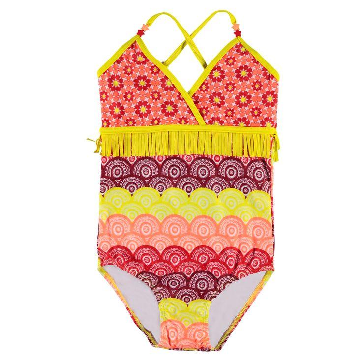 Voor meisjes die graag opvallen in het zwembad of op het strand is dit super badpak van Zee&Zo de beste keuze!