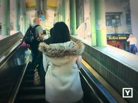 En Hong Kong las escaleras mecánicas te llevan a casa