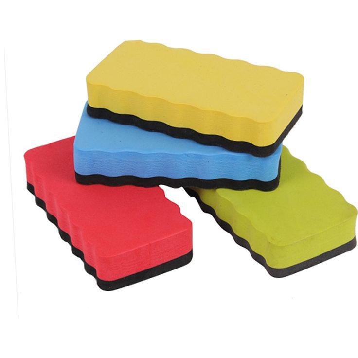 Magnetische Tafel Radiergummi Schaum Radiergummi Kreide Pinsel Whiteboard Trockenen Radiergummis