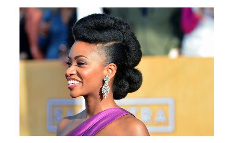 Elegant Medium Natural Hair for 2014