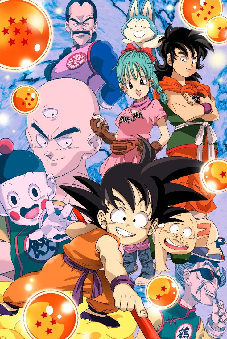 Goku and friends, Dragon Ball