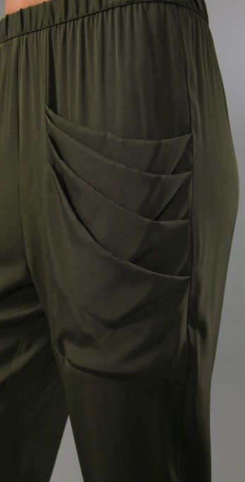 Loeffler Randall: Silk Draped Pocket Pants. http://cdnb.lystit.com/photos/2010/12/13/loeffler-randall-army-draped-pocket-pants-green-product-3-135814-451285444.jpeg http://cdnd.lystit.com/photos/2010/12/13/loeffler-randall-army-draped-pocket-pants-green-product-4-135814-451358338.jpeg http://cdnd.lystit.com/photos/2010/12/13/loeffler-randall-army-draped-pocket-pants-green-product-5-135814-451447127.jpeg