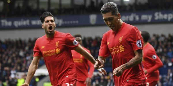 Liverpool a repris la 3e place du classement de Premier League après leur victoire contre West Bromwich lors de la 33e journée.
