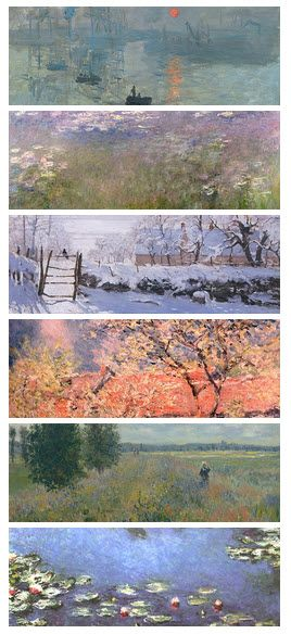 Claude Monet 1840 - 1926. French.