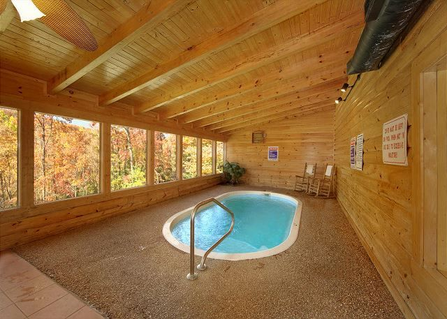 Gone swimmin 39 260 2 bedroom cabins pigeon forge cabins for Private secluded cabins in pigeon forge