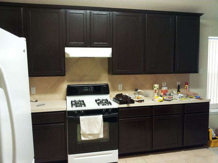 1000+ ideas about Stain Kitchen Cabinets on Pinterest   Cleaning ...