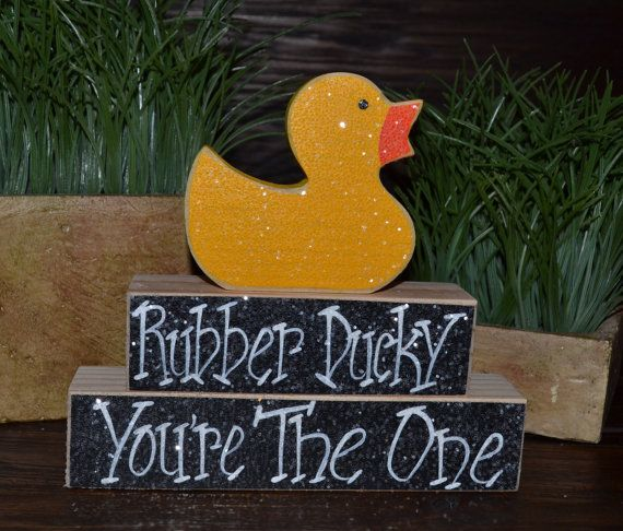 Hey, I found this really awesome Etsy listing at http://www.etsy.com/listing/126763316/rubber-duck-birthday-stacking-blocks