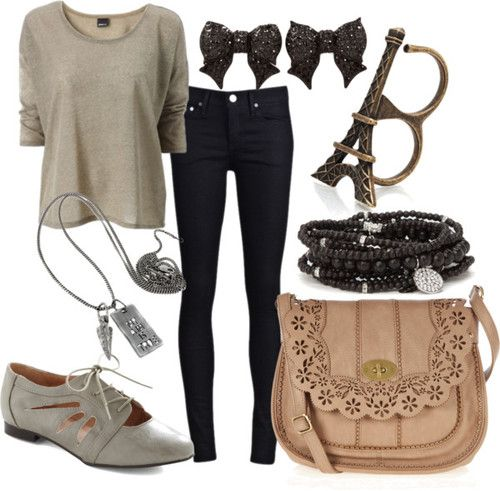 fun casual comfy outfit