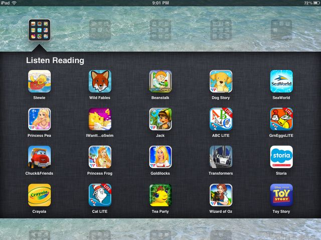 """Daily 5"" Listen to Reading Apps on the iPad"