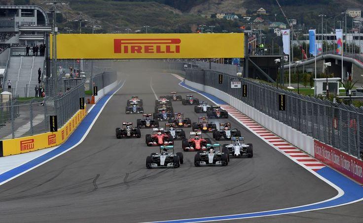 F1 Gran premio, Rusia y Premios