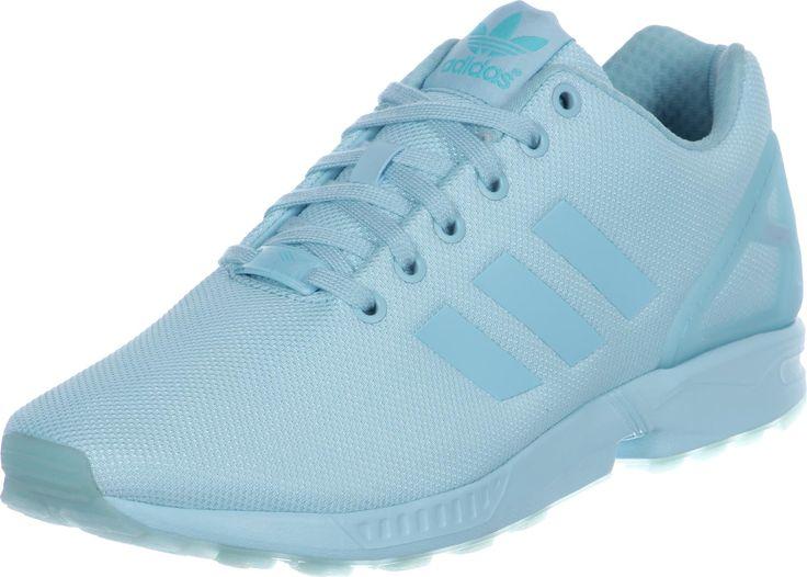 Adidas ZX Flux schoenen blauw | Chaussures adidas, Zx adidas ...