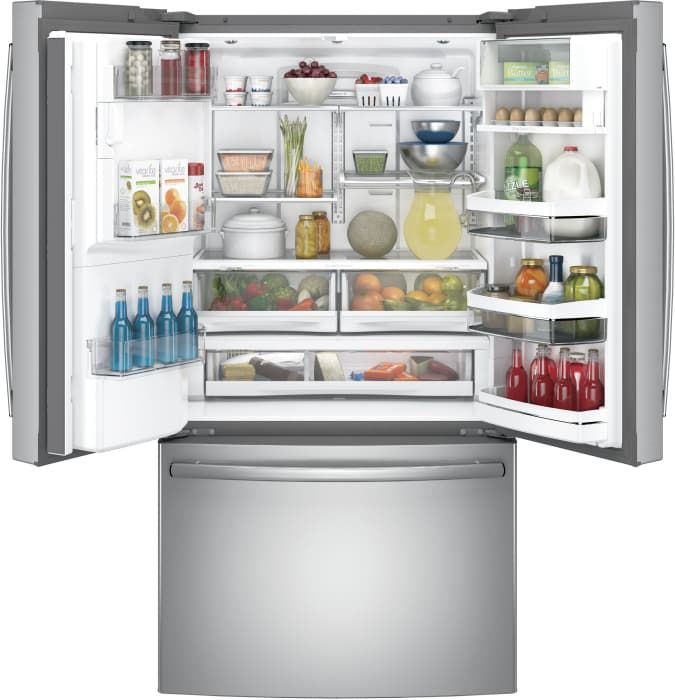 Ge Monogram Gzisp420dxss Side By Side Refrigerator Stainless