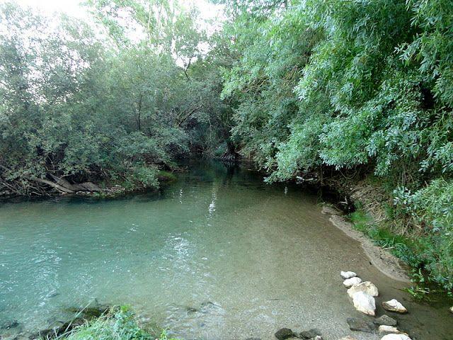 Alcanena, by the river