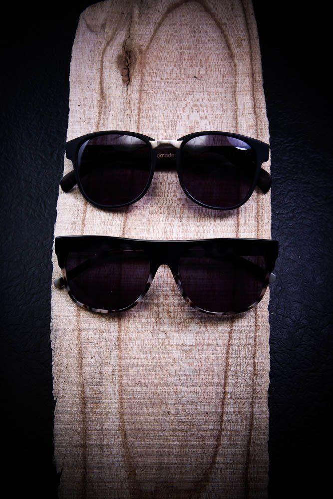 wood & sunglasses