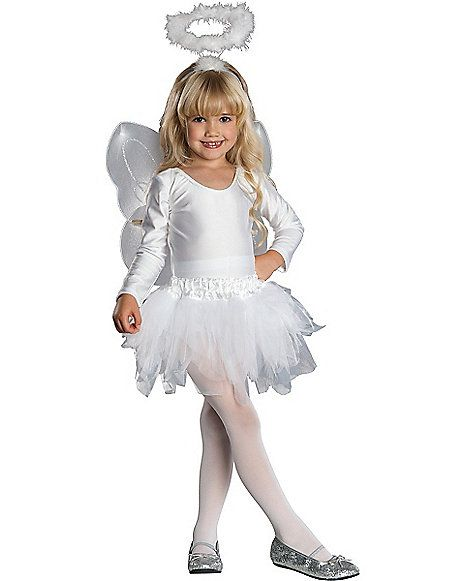 Kids Angel Tutu Costume - Spirithalloween.com