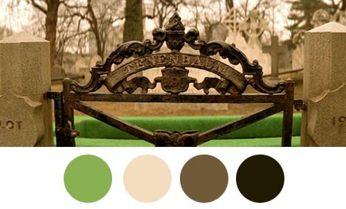 Wes Anderson Palettes. Royal O Reilly Tenenbaum, 1932 - 2001.