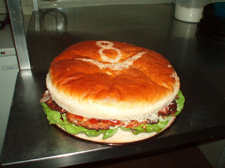 Brutál hamburger