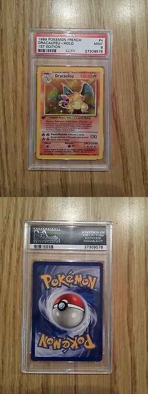 Pok mon Individual Cards 2611: Pokemon Card French 1St Edition Dracaufeu (Charizard) Base Set 4 102, Psa 9 Mint -> BUY IT NOW ONLY: $400 on eBay!