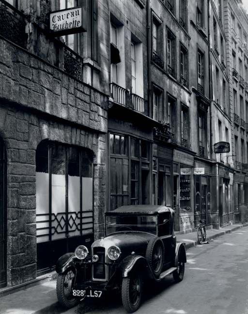 Todd Webb  Rue de la Huchette, Paris, 1949