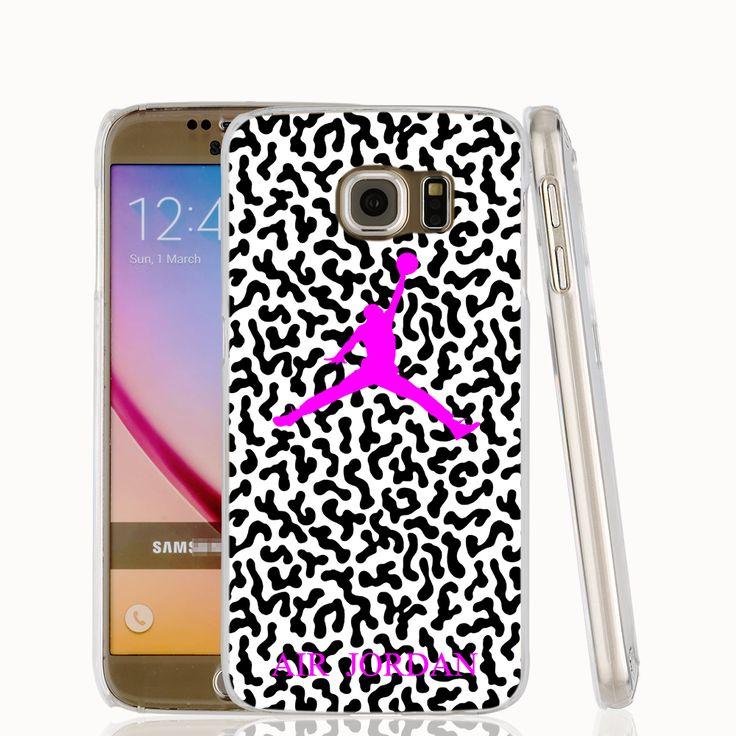 20595 камуфляж розовый air jordan сотовый телефон дело чехол для Samsung Galaxy S6 S7 край ПЛЮС S5 S4 S3 МИНИ