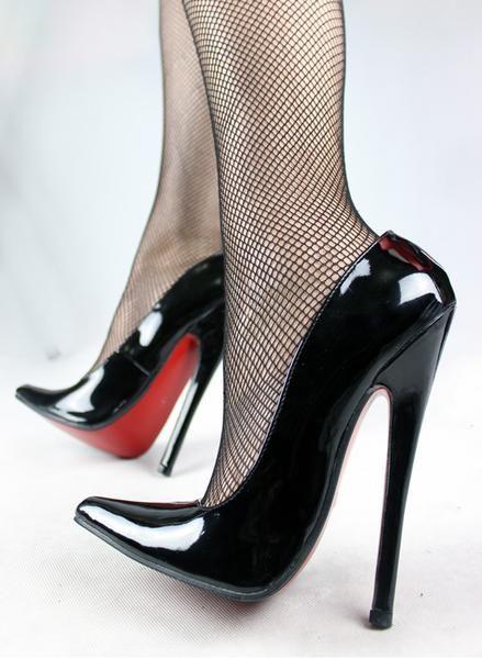 FETISH 6 inch EXTREME HEEL Funtasma high heel ballet shoes Sexy Patent Heels Halloween ballet shoes Free shipping