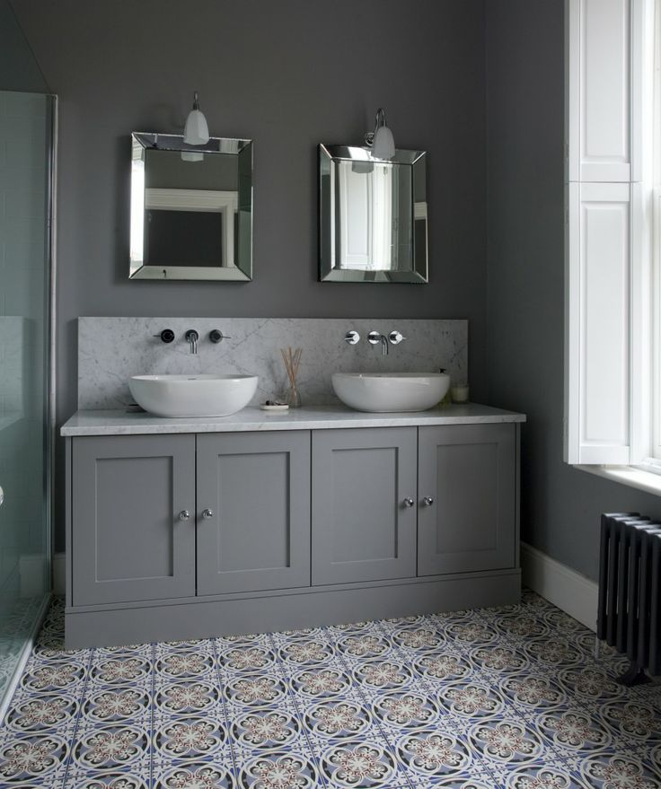 Image Of Bathroom from Newcastle Design Like the floor tiles Bathroom CupboardsBathroom Vanity UnitsGrey