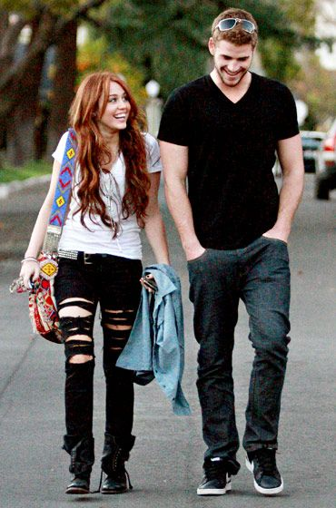 Miley Cyrus and Liam Hemsworth's Love Story: Happy Together