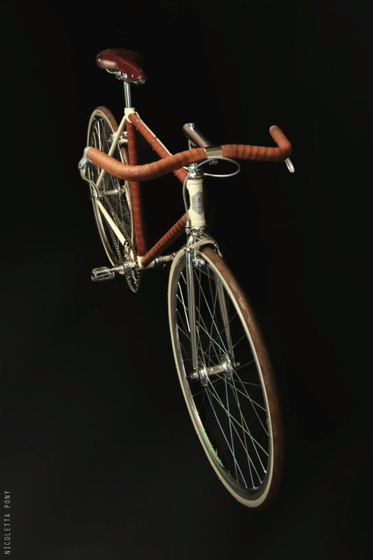 "43Milano Bicycles  "" Fixed"" Crocco covered frame"