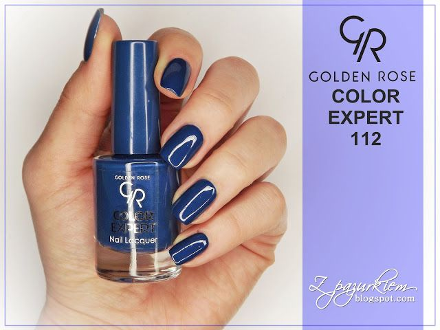 Z pazurkiem!: Golden Rose Color Expert 112